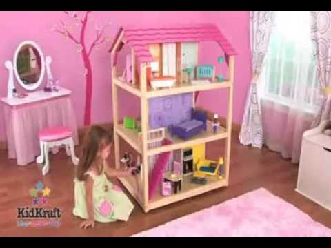 kidkraft so chic dollhouse best quality dollhouse kids toys youtube. Black Bedroom Furniture Sets. Home Design Ideas