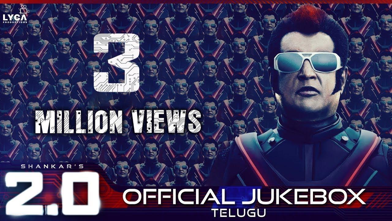 2.0 - Official Jukebox (Telugu) | Rajinikanth, Akshay Kumar ...