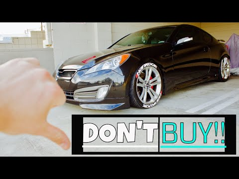 DON T BUY A GENESIS COUPE Until you see this 2018