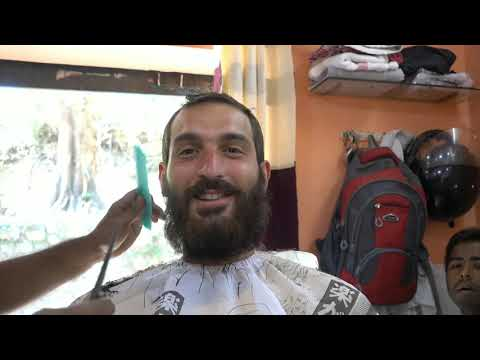 [FULL VIDEO] Street Indian Barber // Haircut // Beard Shave // Face & Head Massage