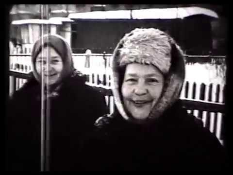 Городок Метростроя. Ярославское шоссе. Лосинка. Зима 1968-69 г.
