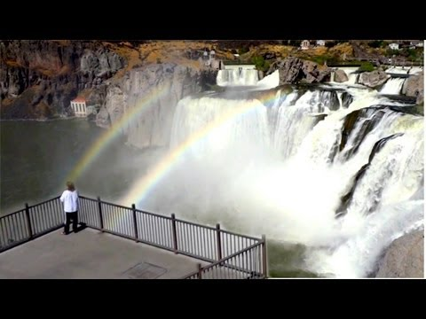 Awesome Waterfalls Nevada/Idaho Desert - Shoshone Falls