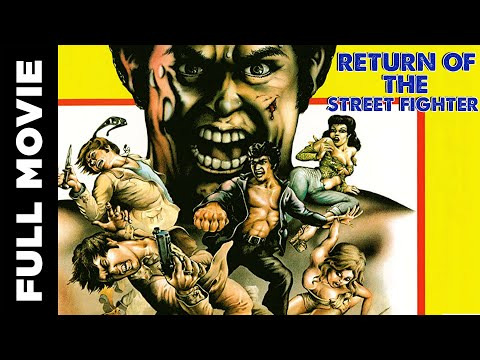 Return of the Street Fighter | Full Action Movie | Sonny Chiba