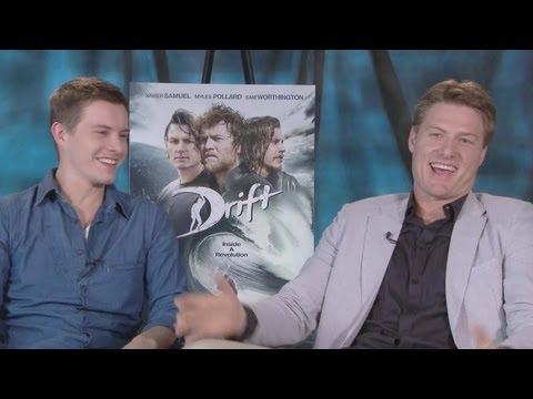 Myles Pollard & Xavier Samuel Talk 'Drift'