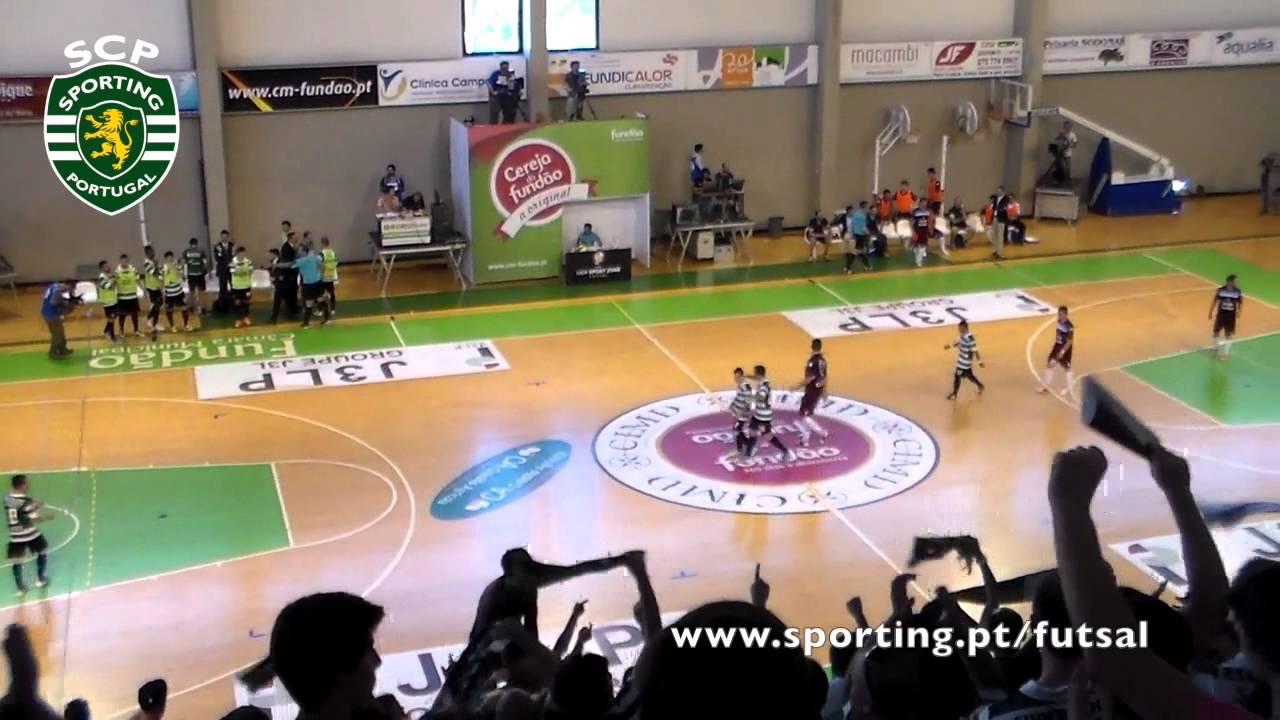 Futsal :: Play-off Final 3º Jogo :: Fundão - 2 x Sporting - 2 (4-1 GP) de 2013/2014