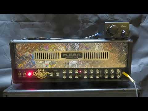 Bugera Ps1 Power Soak With Mesa Dual Rectifier Amp Youtube