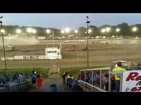 Peoria speedway Modified heat