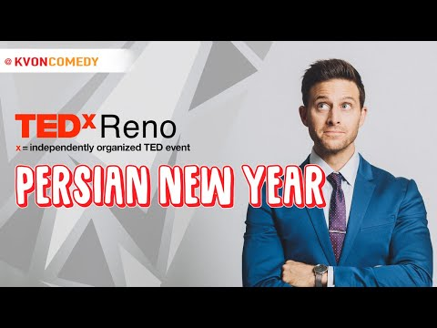 FUNNY TEDTalk about PERSIAN NEW YEAR ~ (w/ comedian Kvon)