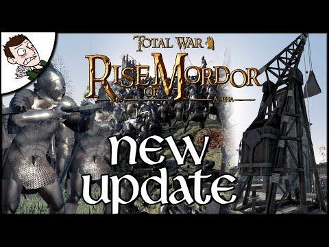 Rise of Mordor New Gameplay Preview - Siege Battle Total War Attila Mod