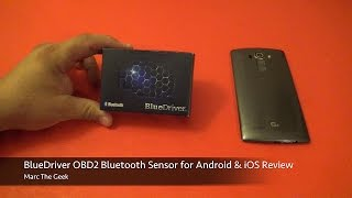 BlueDriver OBD2 Bluetooth Sensor for Android & iOS Review