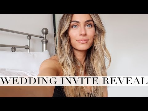 INVITATIONS TO MY WEDDING | Lydia Elise Millen