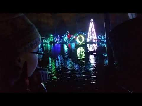Cincinnati Zoo Festival of Lights train ride