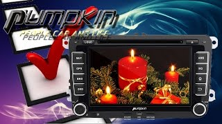 Hardware Check - PUMPKIN 2 Din Autoradio Android 5.1 Quad Core DVD Player mit Navigation HD