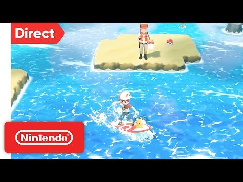 Pokémon: Let's Go, Pikachu & Let's Go, Eevee! - Nintendo Switch   Nintendo Direct 9.13.2018