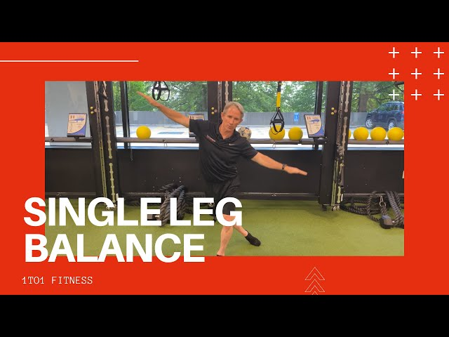 SPICE UP Your Workout With This SINGLE LEG BALANCE