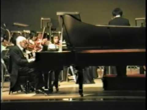 Bach - Concerto for two keyboards - Vlado Perlemuter/Jun Kanno - Tokyo 1986