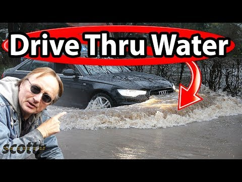 Why It's Dumb to Drive Through Water