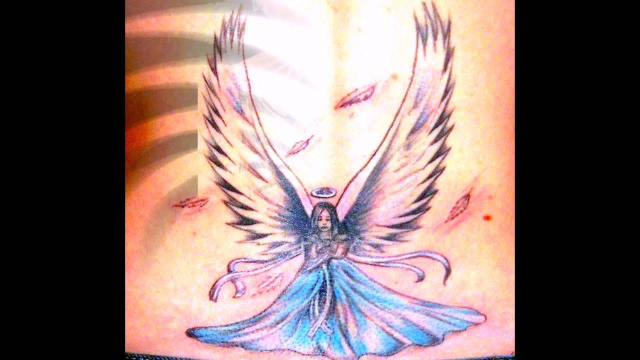 Tattoo fonts - Best angel tattoo ideas - YouTube