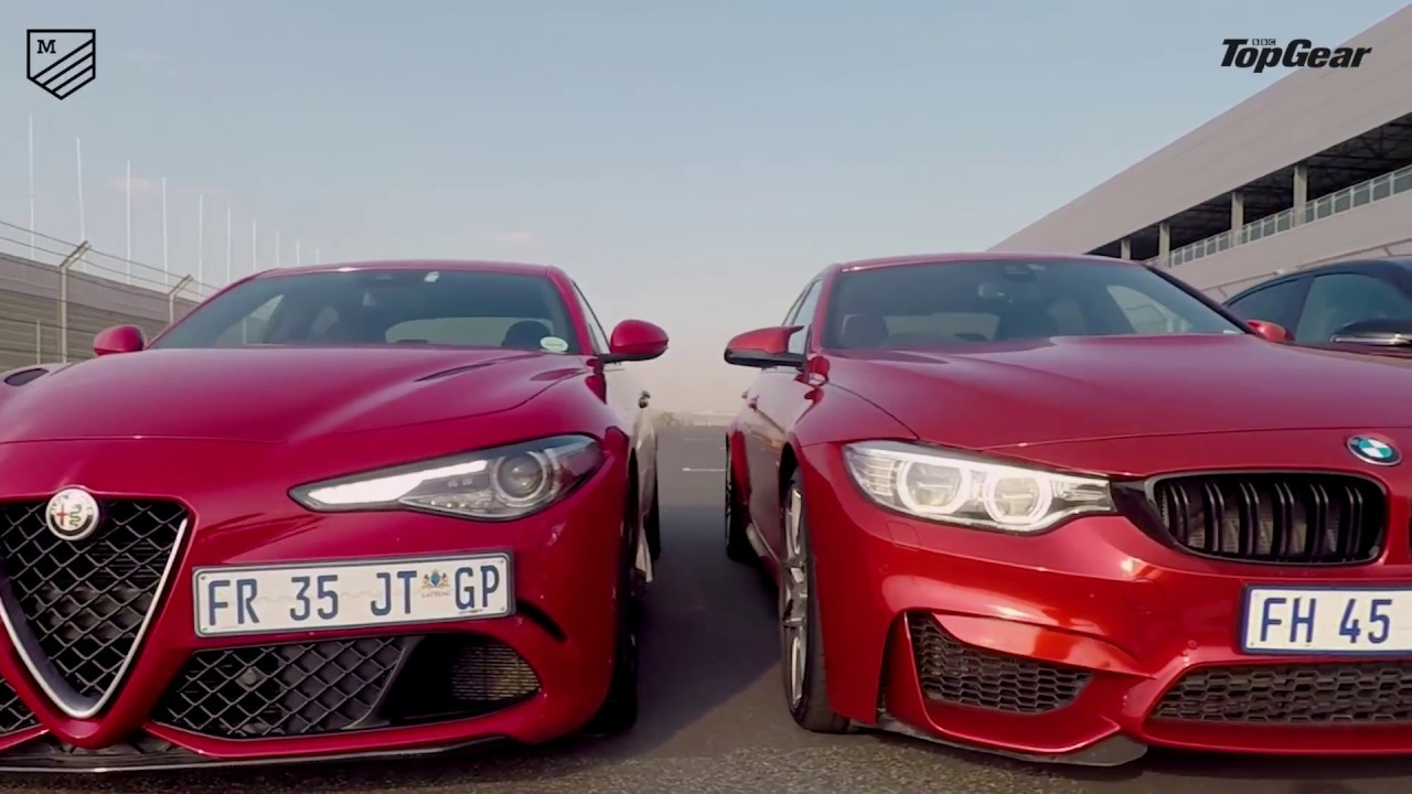 Alfa romeo giulia vs bmw m3 vs mercedes amg c63 by for Alfa romeo vs mercedes benz
