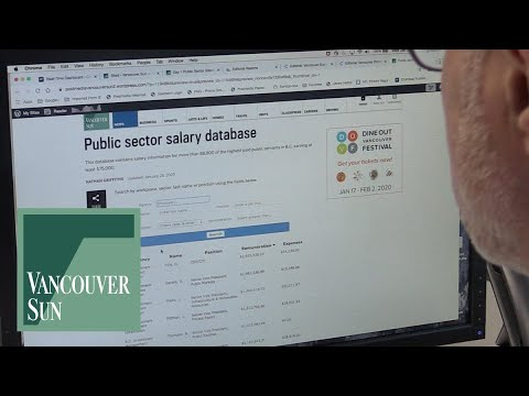 How to search our Public Sector Salary Database | Vancouver Sun