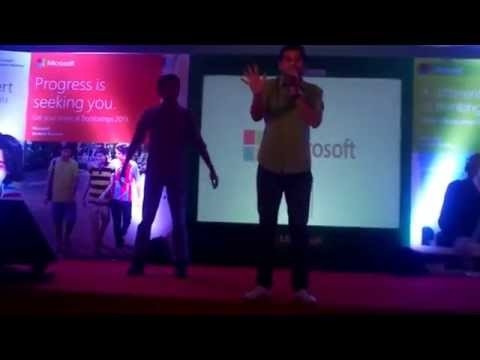 Party time at Microsoft BootCamp Chennai 2013