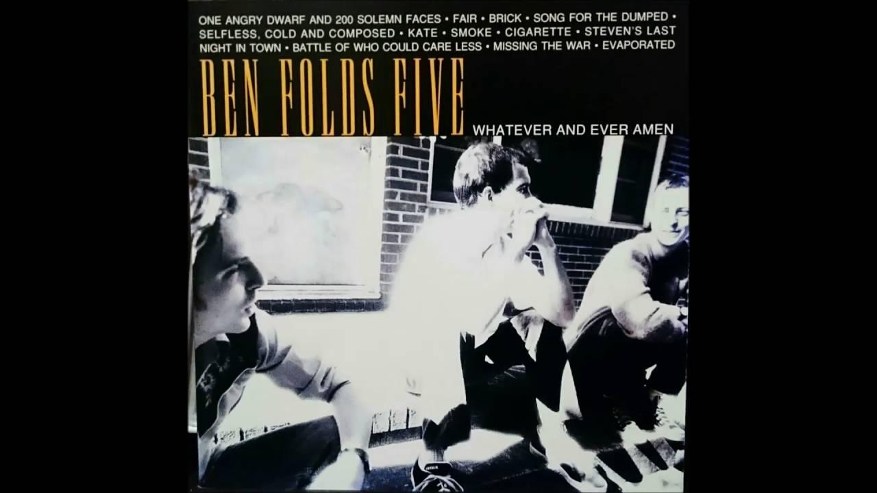 Black t shirt ben folds - Ben Folds Five Japanese Version Of Song For The Dumped