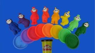 Play-Doh Rainbow Teletubbies Surprise Toys Thumbnail