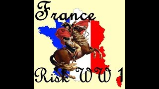 Starcraft 2 Risk WW1 Tutorial (How To Play France)