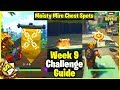 Haunted Hills Treasure Map + Moisty Mire Chest Spots | S4 Week 9 Challenge Guide - Fortnite Tips