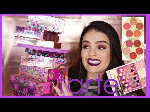 TARTE HOLIDAY 2017 COLLECTION REVIEW & SWATCHES