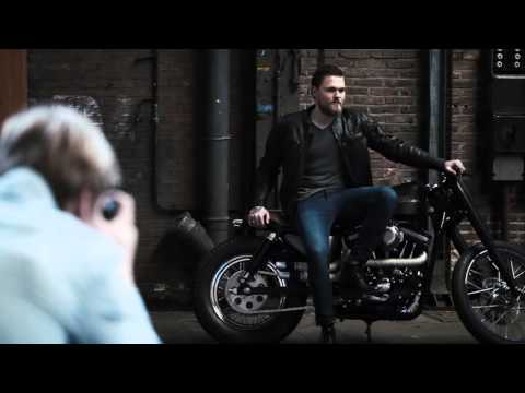 BTS motorcycle photoshoot