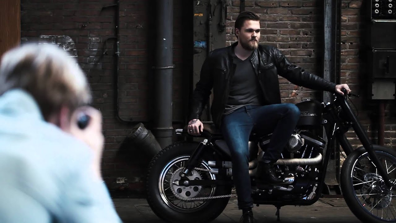 a motorcycle photoshoot  BTS motorcycle photoshoot - YouTube