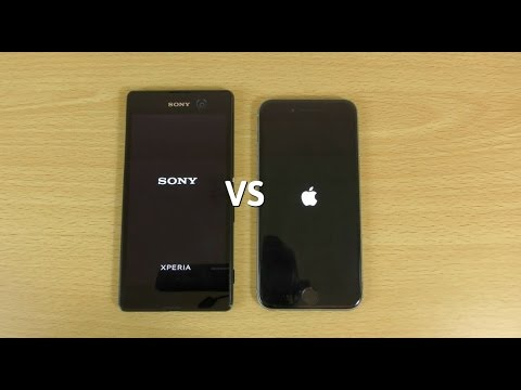 Sony Xperia M5 VS iPhone 6 - Speed & Camera Test!