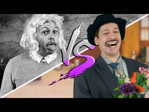 EINSTEIN vs. PROFESSOR GIRAFALES ♫