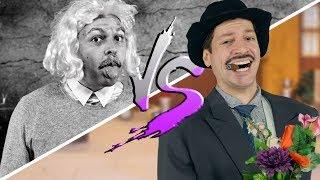 EINSTEIN vs. PROFESSOR GIRAFALES ♫