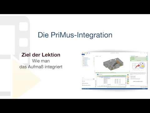 Tutorial von PriMus IFC - Die PriMus-Integration - ACCA software thumbnail