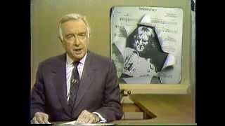John Lennon Death 12/09/80 CBS Evening News w/ Walter Cronkite part 1
