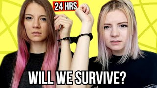 HANDCUFFED TO MY SISTER FOR 24 HOURS