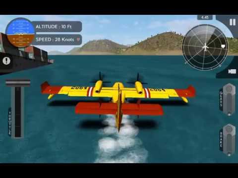 Avion Flight Simulator Canadair CL415 Rescue II