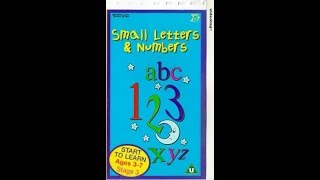 Baixar School Zone   Small Letters & Numbers VHS
