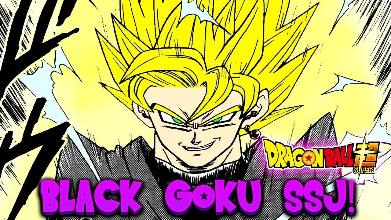 DRAGON BALL SUPER: BLACK GOKU SUPER SAIYAN... PARLIAMONE
