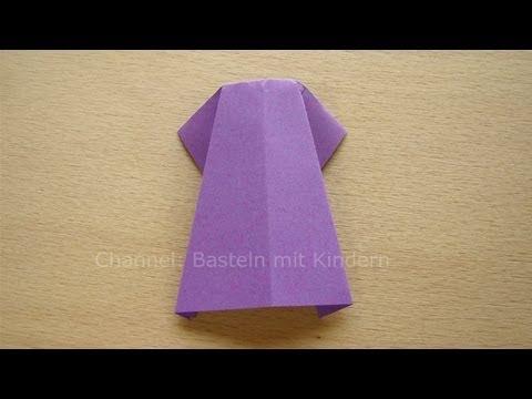 kleid falten aus papier origami einfache origami kleider falten mit kindern youtube. Black Bedroom Furniture Sets. Home Design Ideas