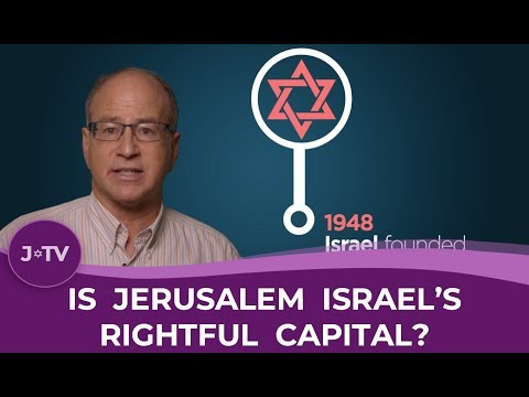 Is Jerusalem Israel's Rightful Capital?