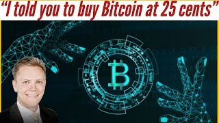 """""""I told you to Buy Bitcoin at 25 cents!""""  Trace Mayer & Arcane Bear"""