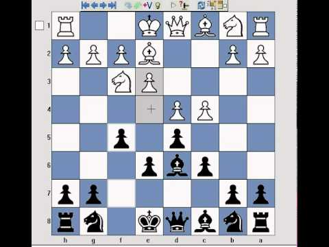 Chess opening lesson on Dutch Stonewall defence against 1.d4 inc. themes + tactics