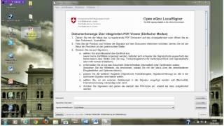 PDF erstellen und qualifiziert signieren