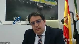 Coloquio con D. José Mª Vergeles,  Consejero de Sanidad de la Junta de Extremadura