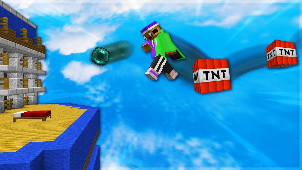 Bedwars Double TNT Ender Pearl Clutching
