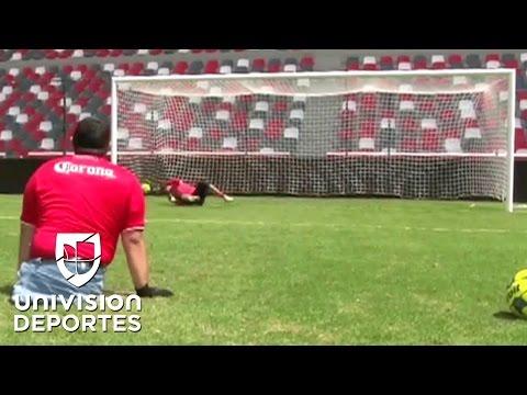 El seguidor del Toluca que le anotó un penalti de manera muy especial a Talavera