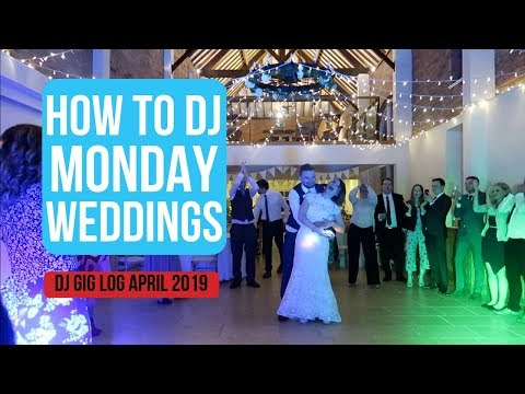 DJ Gig Log: How to DJ an Amazing Monday Wedding